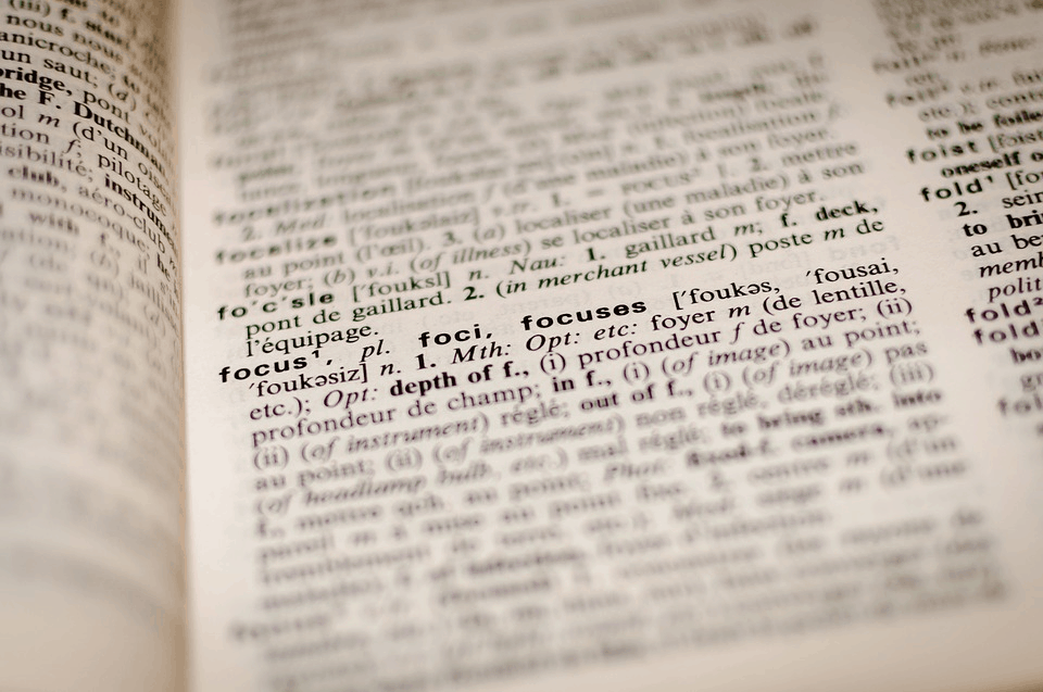 better blogging words in a book