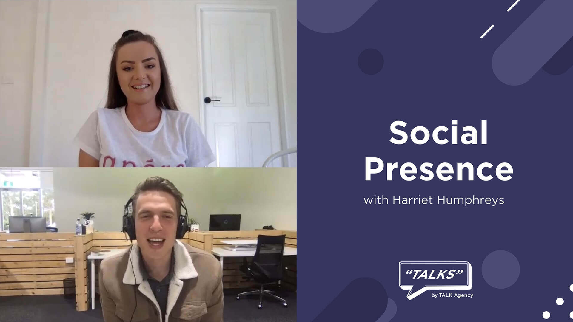 Social presence with Harreit Humphries