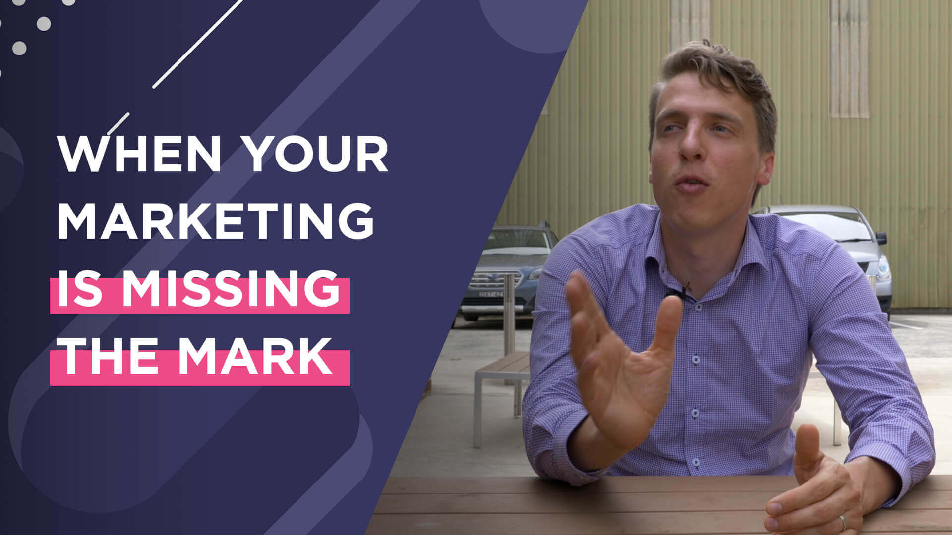 What to Do When Your Marketing Is Missing the Mark